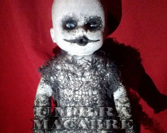 Ghoulish Gus - Hand Painted Doll