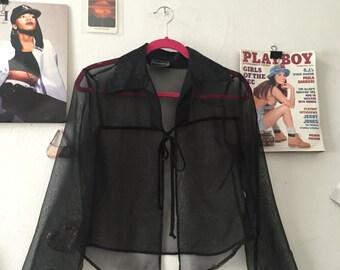 90's Sheer Clueless Jacket