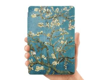 ipad case smart case cover for ipad mini air 1 2 3 4 5 6 pro 9.7 12.9 retina display almond blossom