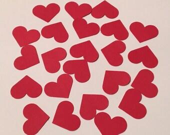 200 Heart Confetti Valentine Confetti Valentines Day Confetti Shower Confetti Red Confetti Red Heart Confetti Birthday Confetti