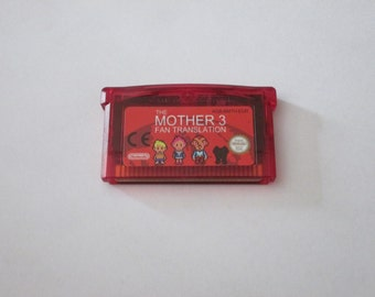 GBA Mother 3 red fan translation saves Gameboy Advance cartridge