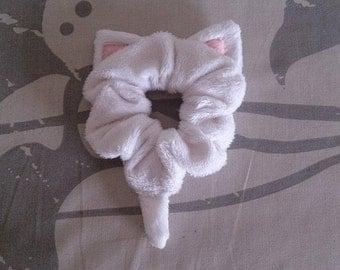 Girls/Ladies Hair Tie Cute Cat Ear Scrunchie Custom Made to Order