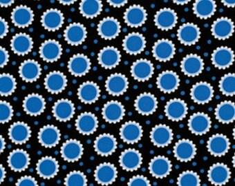 """Jane Sassaman    Free Spirit   """"Wild Child""""   Delirious Dots   Blue"""