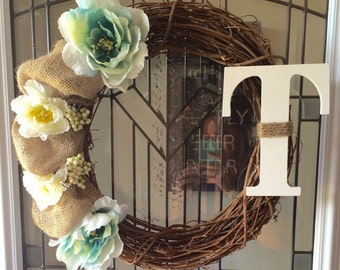 In Bloom - Grapevine Wreath