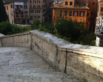 Rome #2099 - View from The Spanish Steps, Rome, Italy