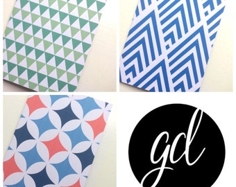Pack of 3 blank A6 gift cards