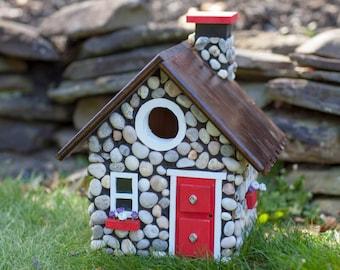 Stone Cottage Bird House