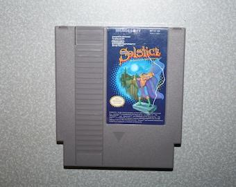 Solstice NES Game Nintendo Vintage Video Game