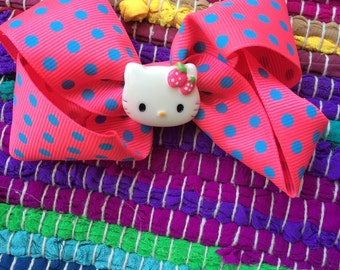 Pink polkadot Hello Kitty