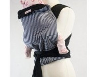 Palm and Pond Mei Tai Baby Carrier - Nautical Stripe