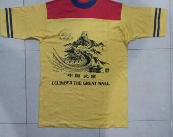 Vintage I Climbed The Great Wall
