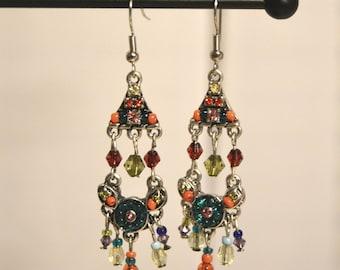 Boho Chic Chandelier Earrings