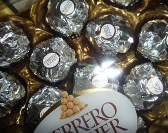 Wedding Ferreo Rocher Silver - 1 x case of 24 (300g)