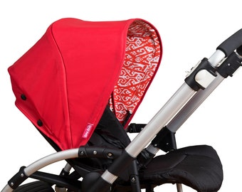 Little Red Riding Hood Bugaboo Replacement Canopy by Riding Hoods