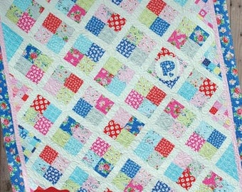 Penny Candy Quilt Pattern from Pie Plate Patterns