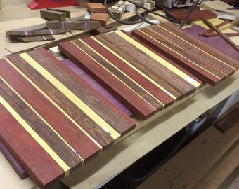 Hand crafted cutting boards
