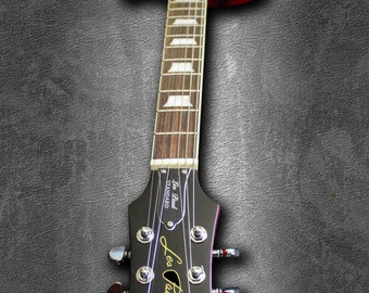 SALE...Epiphone Les Paul Electric guitar, hang this art photograph or canvas on your wall...DISCOUNT