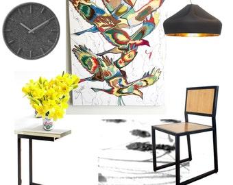 Online interior design, e-design service, interior designer, affordable interior