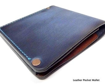 Leather wallet leather wallet Geldbörse mail bag