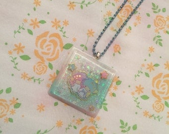 Little twins star Jewel shapped necklace!