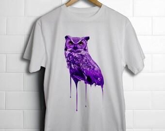 Purple OvO Drake x Future Owl T-Shirt