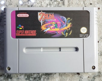 The Legend of Zelda: Goddess of Wisdom in English SNES Pal/US/Jap