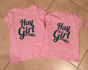 Hay Girl T-Shirt