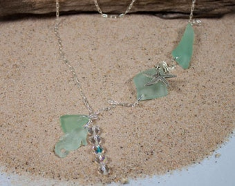 Double Wrap Under the Sea Necklace