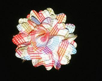 Assorted color lapel flower