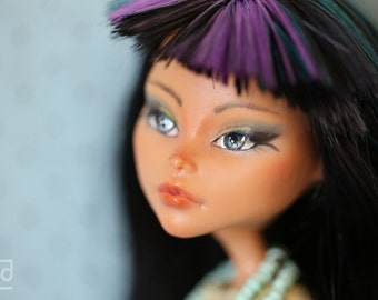 SELKET, a custom repaint OOAK designer Monster High Doll by p4d