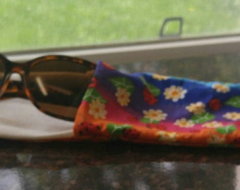 Sunglass / Eyeglass case. Custom made. Can be personalized with name! Perfect for kids, teens and adults.