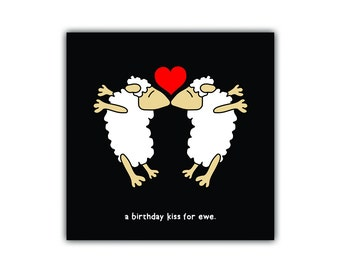 Black sheep cards (love/missing you)