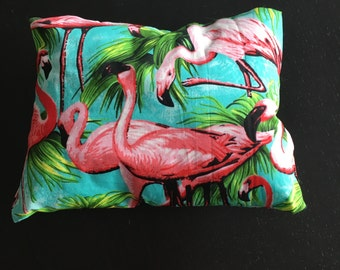 Cute Tropical Flamingo Pillow / Scatter Cushion - HAND MADE