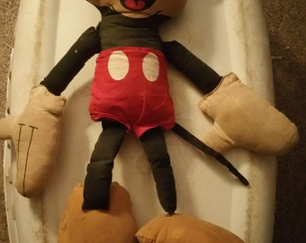 Plushy Mickey Mouse doll