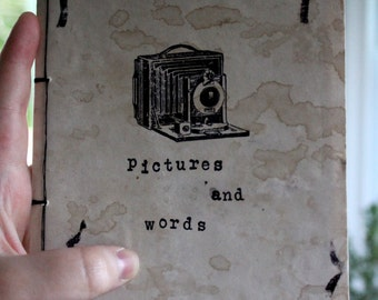 Pictures and Words Sketchbook