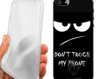 Don't touch case cover for iphone 5 5s