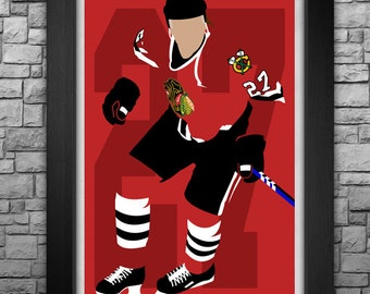 JEREMY ROENICK minimalism style limited edition art print. Choose from 3 sizes!