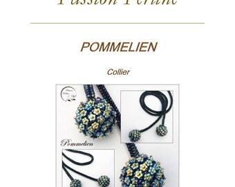 Pattern necklace POMMELIEN