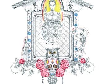 Cuckoo clock Mexico