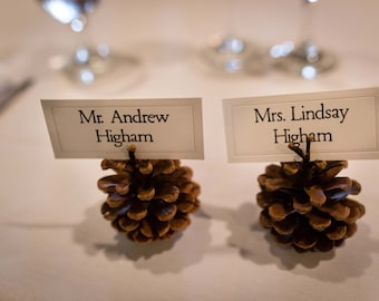Place Cards for Weddings, Events or Presentations