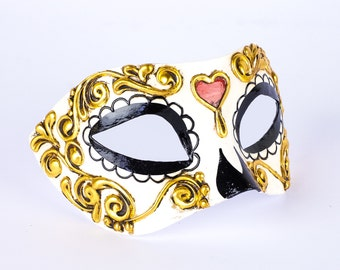 Eye Mask of Day of Dead