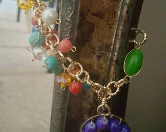 Muti color Custom necklace