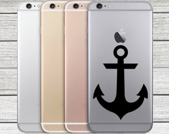 Sailor Anchor Premium iPhone Vinyl Decal Sticker