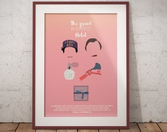 Affiche - The Grand Budapest Hotel