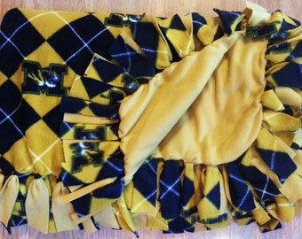 Missouri Tigers Argyle Fleece Blanket