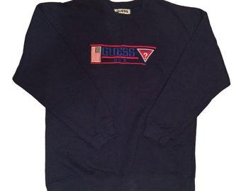 Vintage Guess Crew Neck Sweatshirt