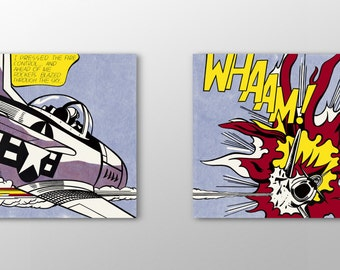 Art Print - Roy Lichtenstein, 'Whaam!' (1963)