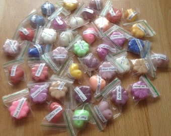 40 Assorted highly scented wax melts/tarts