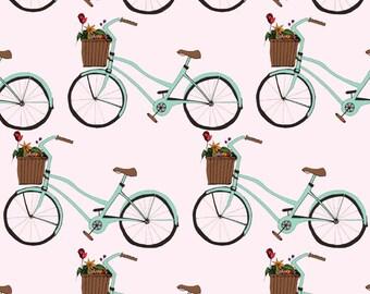 Bicycle Pattern, A4 print, 21cm x 29.5cm, unframed