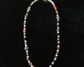 Gemstone MultiColored Necklace